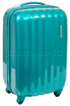 American Tourister Prismo Small/Cabin 55cm Hardside Suitcase Turquoise 41001