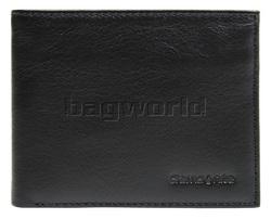 Samsonite RFID Blocking Leather Slimline Wallet Black 50900