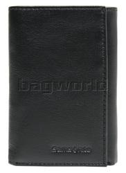Samsonite RFID Blocking Leather Trifold Wallet Black 50901
