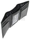 Samsonite RFID Blocking Leather Trifold Wallet Black 50901 - 3