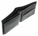 Samsonite RFID Blocking Leather Wallet with Credit Card Flap Black 50902 - 4