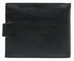 Samsonite RFID Blocking Leather Wallet with Flap and Coin Pocket Black 50903 - 1