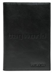 Samsonite RFID Blocking Leather Passport Wallet Black 50904