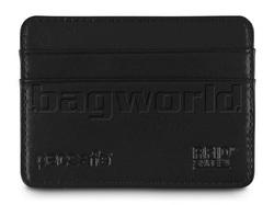 Pacsafe RFIDexecutive 25 RFID-Blocking Leather Credit Card Holder Black PE360