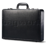Samsonite Packaged Business Leather Briefcase Black Z8002
