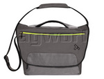 "Travelon React Anti-Theft 15.6"" Laptop & iPad Messenger Bag Slate 42641"