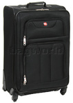 Wenger Swiss Alps Medium 66cm Softside Suitcase Black 83002