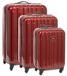 Samsonite Colory Hardside Suitcase Set of 3 Dark Red 80004, 80005, 80006 with FREE Samsonite Luggage Scale 34042