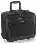 "Solo Tech 16"" Laptop Rolling Case Black CC902"