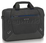"""Solo Tech 16"""" Laptop Slim Briefcase Black CC104"""