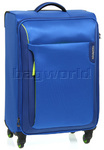 American Tourister Applite Medium 71cm Softside Suitcase Blue 2R002
