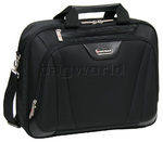 "Wenger Business 17"" Laptop Single Compartment Briefcase Black 92217"