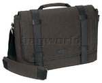 "Targus City Fusion 15.6"" Laptop and iPad Messenger Bag Grey BM064"