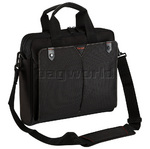 "Targus Classic+ 15.6"" Laptop and Tablet Toploading Briefcase Black CN515"