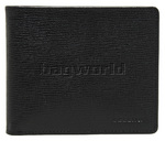 Cellini Durban Men's Leather Wallet Black EX331