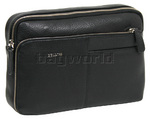 Cellini Dublin Leather Gents' Bag Black EX335