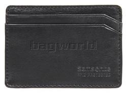 Samsonite RFID Blocking Leather Credit Card Holder Black 53388