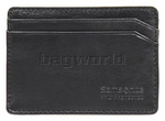 Samsonite RFID Blocking Leather Credit Card Holder Black 53388