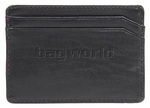 Samsonite RFID Blocking Leather Credit Card Holder Black 53388 - 1