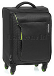 American Tourister Applite Small/Cabin 55cm Softside Suitcase Black 2R001