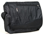 "High Sierra Connect 17"" Laptop Messenger Bag Black S8115"