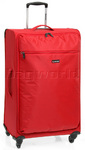 Qantas Airlight Large 80cm Softside Suitcase Red 07022