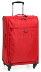Qantas Airlight Medium 68cm Softside Suitcase Red 07023