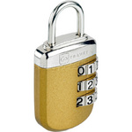 GO Travel Big Wheel Padlock Gold GO334
