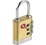 GO Travel Brass Travel Sentry Lock GO340