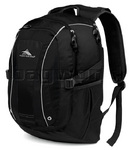 "High Sierra Endeavor 17"" Laptop Backpack Black EN306"