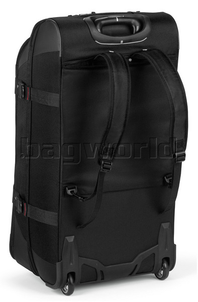 High Sierra AT7 81cm Wheeled Duffel with Backpack Straps Black 57020 8c54c351be6