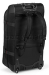 High Sierra AT7 66cm Wheeled Duffel with Backpack Straps Black 57019 - 1