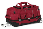High Sierra Endeavor 71cm Drop-Bottom Wheeled Duffel Red EN303