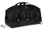 High Sierra Endeavor 87cm Drop-Bottom Wheeled Duffel Black EN304