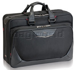 "Solo Executive Smart Strap 17.3"" Laptop Briefcase Black XE300"