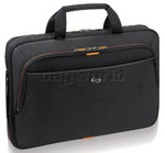 "Solo Urban 15.6"" Laptop Slim Briefcase Black BN101"