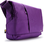 "Case Logic MLM 11.6"" Laptop and iPad Messenger Bag Purple LM111"