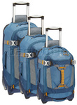 Eagle Creek Load Warrior Wheeled Duffle Set of 3 Slate 20389, 20390, 20391 with FREE Travelon Luggage Scale 12636