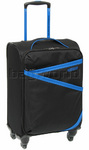 American Tourister Ziplite Small/Cabin 55cm Softside Suitcase Blue 27001