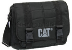 "CAT Millennial 17"" Laptop Messenger Bag Black CAT06"