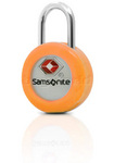 Samsonite Travel Accessories TSA Key Lock with Interchangeable Covers Orange 34008