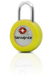 Samsonite Travel Accessories TSA Key Lock with Interchangeable Covers Yellow 34008