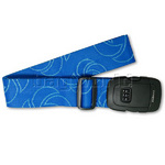 Samsonite 3 Dial Locking Strap Blue 34013