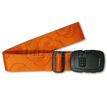 Samsonite 3 Dial Locking Strap Orange 34013