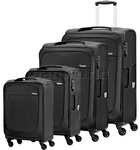 Samsonite B'Lite Xtra Softside Suitcase Set of 4 Black 57160, 57161, 57162, 57163 with FREE Samsonite Luggage Scale 34042