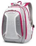 "Samsonite VizAir 15.6"" Laptop Backpack Silver/Pink 4T001"