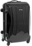 Jeep Rubicon Medium 66cm Hardside Suitcase Black 8400B