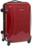 Jeep Rubicon Medium 66cm Hardside Suitcase Cherry 8400B