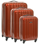 Samsonite Colory Hardside Suitcase Set of 3 Orange 80004, 80005, 80006 with FREE Samsonite Luggage Scale 34042