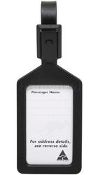 Airport Plastic Luggage Tag Black 25568